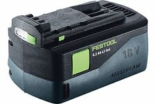 BATTERIA FESTOOL BP 18 Li 5,2 AS AL LITIO ALTE PRESTAZIONI AIRSTREAM 200181