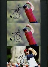 Lot Of (3) Jim Furyk Signed AUTO 4x6 Photos