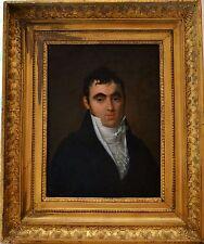 """DELAPLACE Jacques (1767-1831) """"Portrait de Monsieur, 1810"""" Empire Napoléon"""