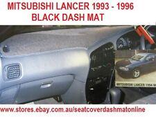DASH MAT, BLACK DASHMAT MITSUBISHI LANCER CC GL 1993-1996, BLACK