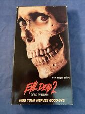 Evil Dead 2 Dead By Dawn VHS Tape Sarah Berry Bruce Campbell Classic Horror