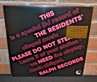 THE RESIDENTS - Please Do Not Steal It! Ltd TOUR EDITION 180G COLORED VINYL #'d