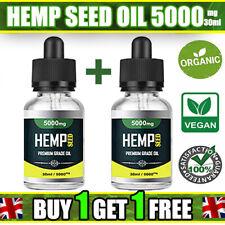 Hemp seed oil Drops 5000mg  | 30ml Bottles | Arthritis | Muscle Relief |