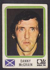 Panini - Munchen 74 World Cup - # 204 Danny McGrain - Scotland