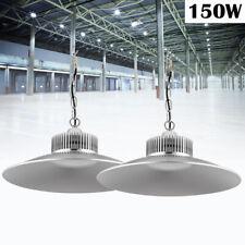 8X150W Hänge LED Hallenleuchte Industrielampe Highbay Hallenstrahler Weiß Fluter