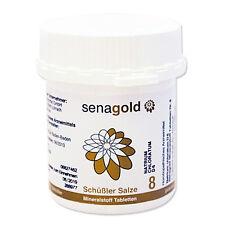 Schüßler Salz Nr.8 - Natrium chloratum D6 - 400 Tabletten, glutenfrei
