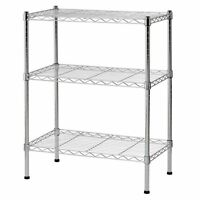 3-Tier Layer Rack Shelves Shelving Kitchen Cart Microwave Oven Unit Storage