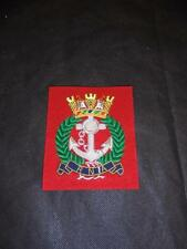 NEW Royal Navy Association RNA Cloth / Bullion Blazer Badge / Patch Navy