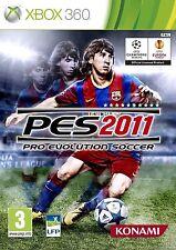 PES 2011            -----   pour X-BOX 360