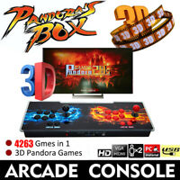 Pandora's Box 20S 4263 in 1 Video Gaming 2Player Arcade Console LCD 3D US Plug