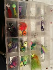 Walleye Killer Jig Lot Various Sizes And Misc Rapala ice jigs