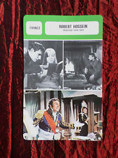 ROBERT HOSSEIN - MOVIE STAR - FILM TRADE CARD - FRENCH  - #1