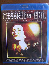 MESSIAH OF EVIL (1975) (Blu-Ray) CODE RED - BRAND NEW, FACTORY SEALED!!!