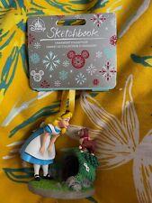 More details for disney store sketchbook legacy ornament alice in wonderland.