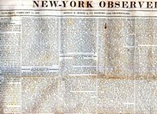 Newspaper-Balls Cave Schoharie, Catskill, Cherokees,Prize Fighting Boxing 1835