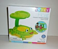Intex Froggy Friend Shaded Baby Float Frog 2015 New