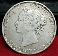 1898 50 Cents New Foundland Half Dollar
