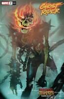 Ghost Rider #7 Marvel Zombies Var (2020 Marvel Comics) First Print Del Mundo