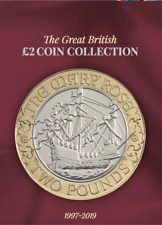 1997 - 2019 Great British £2 Coin Hunt Collectors Coin Album