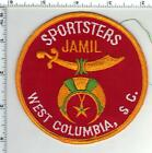 Shriners - Sportsters - Jamil - West Columbia S.C. -Shoulder Patch from 1980's