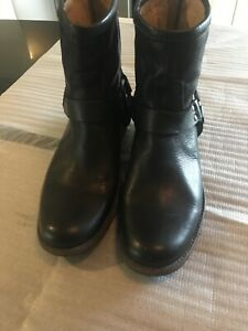 frye boots Black Leather New Size 6