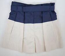"$1095 Authentic BALENCIAGA Two-Toned Silk Blend Dress Shorts FR-40 W-32"" FRANCE"
