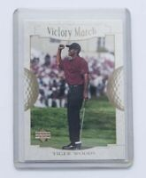 Tiger Woods 2001 Upper Deck Victory March Golf Rookie Rc Card