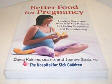 Books, Better Food for Pregnancy, Cookbook Recipes