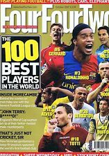 100 BEST PLAYERS / MORECAMBE / BRIGHTON	Four Four Two	no.	158	Oct	2007