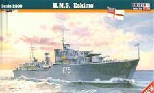 HMS ESKIMO / HMS SOMALI  - WW II ROYAL NAVY DESTROYER  1/600 MISTERCRAFT