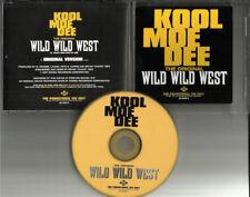 KOOL MOE DEE Wild Wild West (1999 U.S. Promo CD Single)