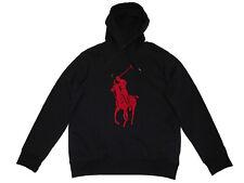 Polo Ralph Lauren Blue 3XB Red Big Pony Fleece Hoodie Sweatshirt Jacket Coat