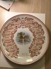 Historical 1909 Allentown Pennsylvania Plate Menner Bros Grocery Store Rare