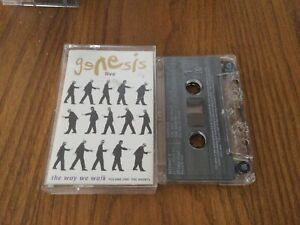 GENESIS - The Way We Walk (UK) Live / Cassette Tape Album /5578