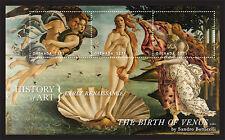 Grenada 2013 - History of Art Stamp- sheetlet of 3 SC#3889 - MNH
