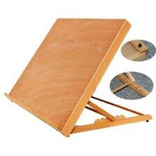 Wooden Drafting Table Art Craft Drawing Adjustable Office Desks Portable Sketch