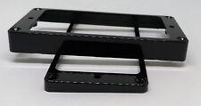 Coppia cornici slanted in plastica nera x humbucker