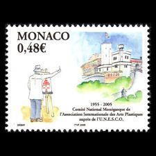 Monaco 2005 - 50th Anniv of the National Centre for Plastic Art - Sc 2370 MNH