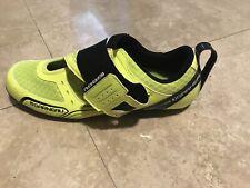 NEW Men's Louis Garneau Tri-X-Lite Cycling Shoes Unisex Size 45.5