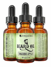 Beard Oil - All-Natural and Organic Leave-In Conditioner - Smashing Apples
