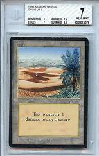 MTG Arabian Nights Oasis BGS Graded 7.0 NM Card  Magic the Gathering WOTC 3076