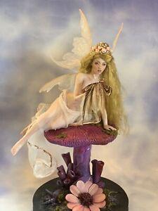 OOAK pinup Fairy Fantasy Art Doll Sculpture Art Studio Roos
