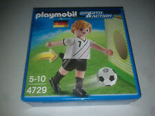 Neuf ! Playmobil football joueur Allemagne 4729