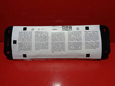 MERCEDES CLASSE A W169 AIRBAG PASSAGER