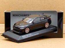 1/43 BMW M4 GTS Sapphire Black Orange RUOTE Minichamps DieCast Model 410 025222