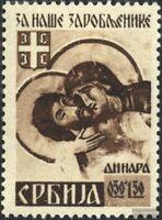 Serbien (Dt.Bes.2.WK.) 62A postfrisch 1942 Kriegsgefangene
