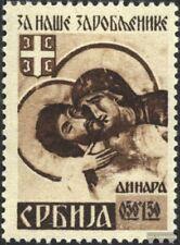 Servië (Duits.Cast.2.Oorlog.) 62A postfris MNH 1942 Krijgsgevangenen
