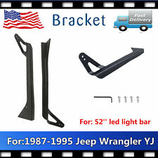 Mounting Bracket Fits Jeep Wrangler YJ 1987-1995 For Offroad 52Inch Led Light