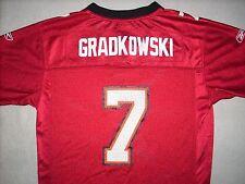 TAMPA BAY BUCCANEERS # 7 GRADKOWSKI NFL JERSEY YOUTH LARGE 14 - 16 REEBOK BRAND