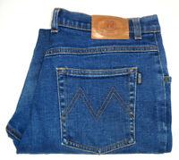 MORRISONS WOMENS SIZE 16 MEASURED W34 X L29 STRAIGHT LEG BLUE JEANS FREE POST